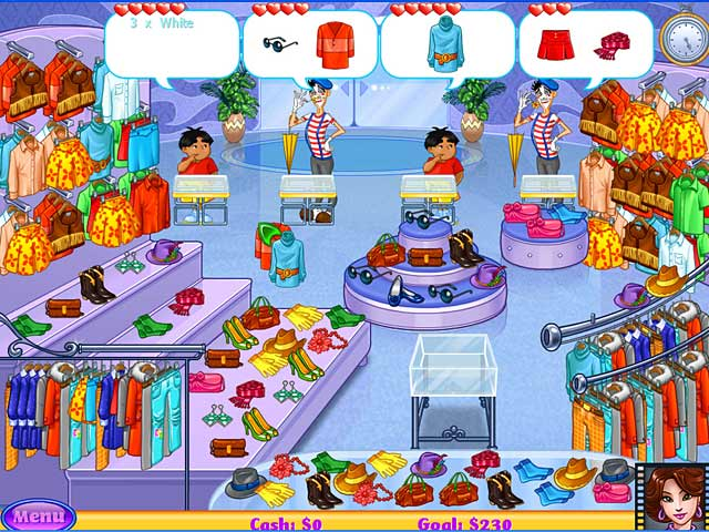 Screenshot of Cake Mania: Lights, Camera, Action